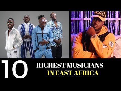 KENYAN SAUCE TOP 10 RICHEST MUSICIANS EAST AFRICA (KENYA UGANDA TANZANIA)