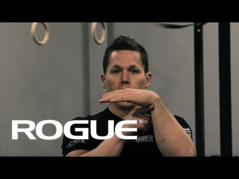 Movement Demo - The Ring Pull Up (Strict/False Grip)