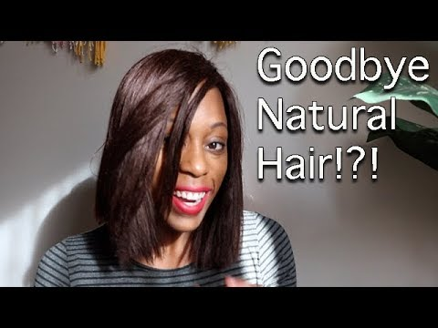 Goodbye Natural Hair! | Style Diary Episode #1 | Britt's Space