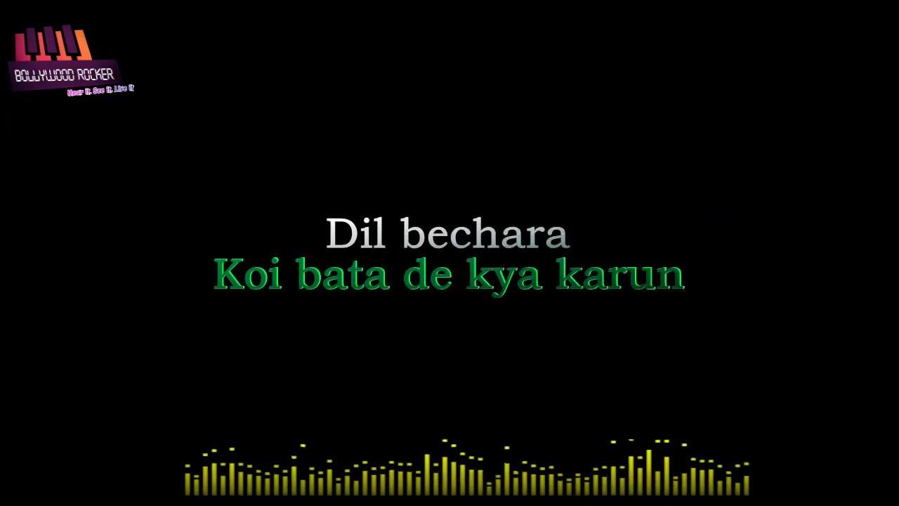 Dil Bechara Karaoke|Title track|SSR|