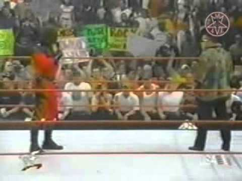 Kane,Rock,Undertaker,Linda,Vince,In Ring Segment 6-12-00 (1/2)