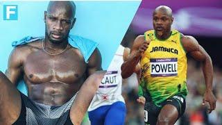【陸上100m】元世界記録保持者 アサファ・パウエルの筋トレ&走り!| Asafa Powell's Training