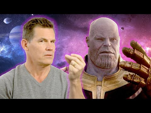 Josh Brolin Tells Us How To Do the Thanos Click