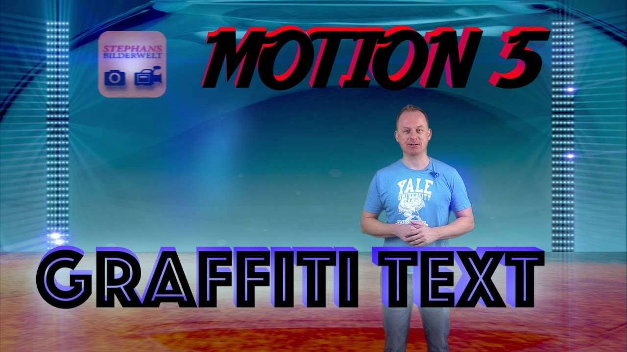 motion 5 3 tutorial graffiti text animieren stanzmaske erstellen youtube. Black Bedroom Furniture Sets. Home Design Ideas