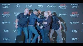 UFC Stockholm: Media Day Faceoffs