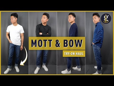 MOTT & BOW TRY-ON HAUL & Review (Premium Affordable Basics?)