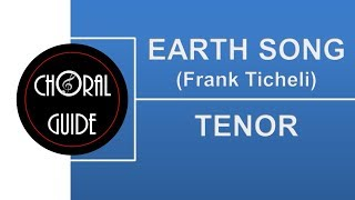 Earth Song - TENOR