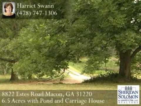 8822 Estes Road Macon, GA 31220   Land For Sale In Macon Georgia Real Estate