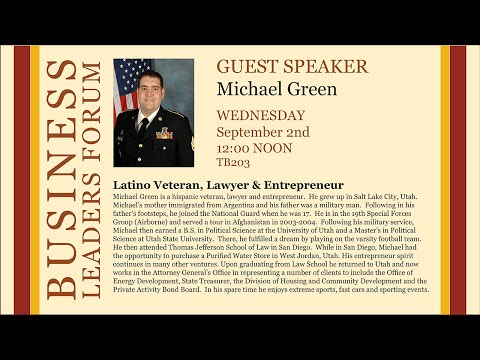 2015 Fall Business Lectures - Michael Green