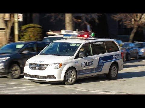 Dodge G Caravan >> Saint-Henri   Montréal Police Department (SPVM) - x4 Police Cars Responding Urgently + G.I. On ...