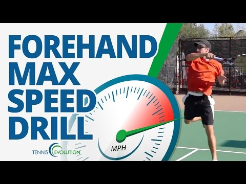 TENNIS FOREHAND DRILL | Speed Up Your Tennis Forehand With This Drill