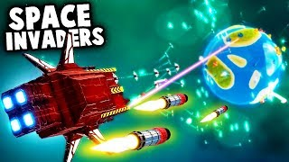 Defending Our Planet Against MASSIVE ARMIES of Space Invaders! (Exo TD Gameplay)