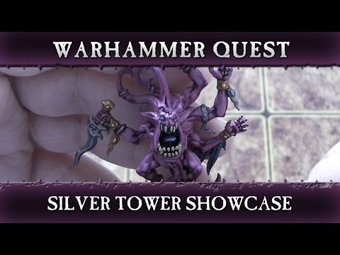 Warhammer Quest Silver Tower Showcase - Warhammer Age of Sigmar
