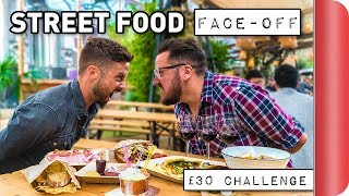 THE ULTIMATE STREET FOOD FACE-OFF!! #ad