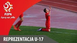 U-17: Bramka z meczu Polska - Belgia 1:0