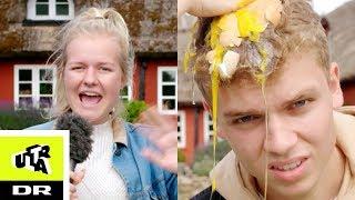 Den Store Bondegårdsquiz med Kristine Sloth (og æg) | Brohave og Harding på tur | Ultra