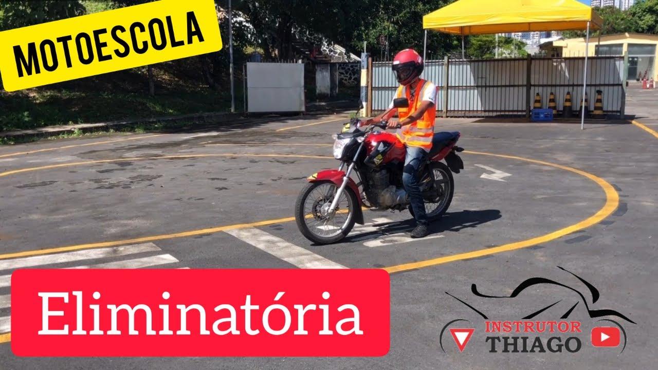 FALTA ELIMINATÓRIA NO EXAME DE MOTO PISTA OFICIAL SALVADOR BAHIA