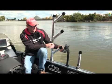 Bert 39 s custom tackle 39 s rod holder youtube for Cisco s sportfishing fish count