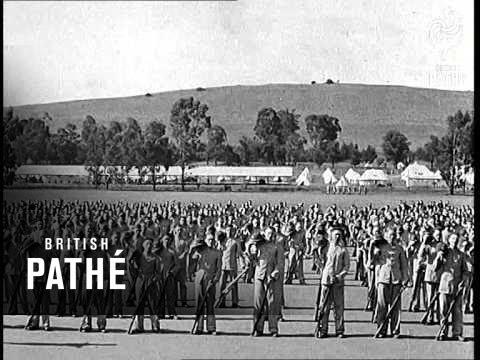 General Smuts Reviews The Botha Regiment (1940)