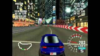 My old skool collection - Sega GT (PC ver.) - RX-7 at Night Section B Circuit