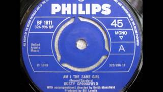 Watch Dusty Springfield Am I The Same Girl video