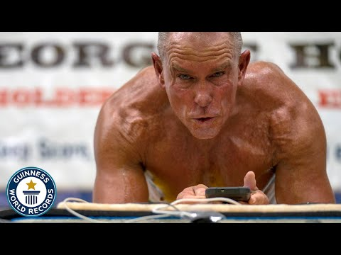 Longest plank EVER Guinness World Records
