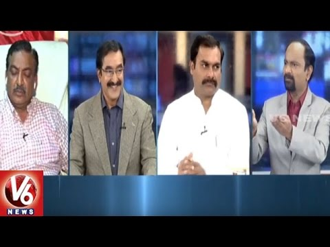 Special Debate On IT Officials Seize Crores Of New Currency From Irregulars | 7PM Discussion | V6