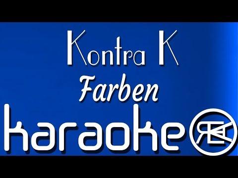 Kontra K - Farben   Karaoke Lyrics Instrumental