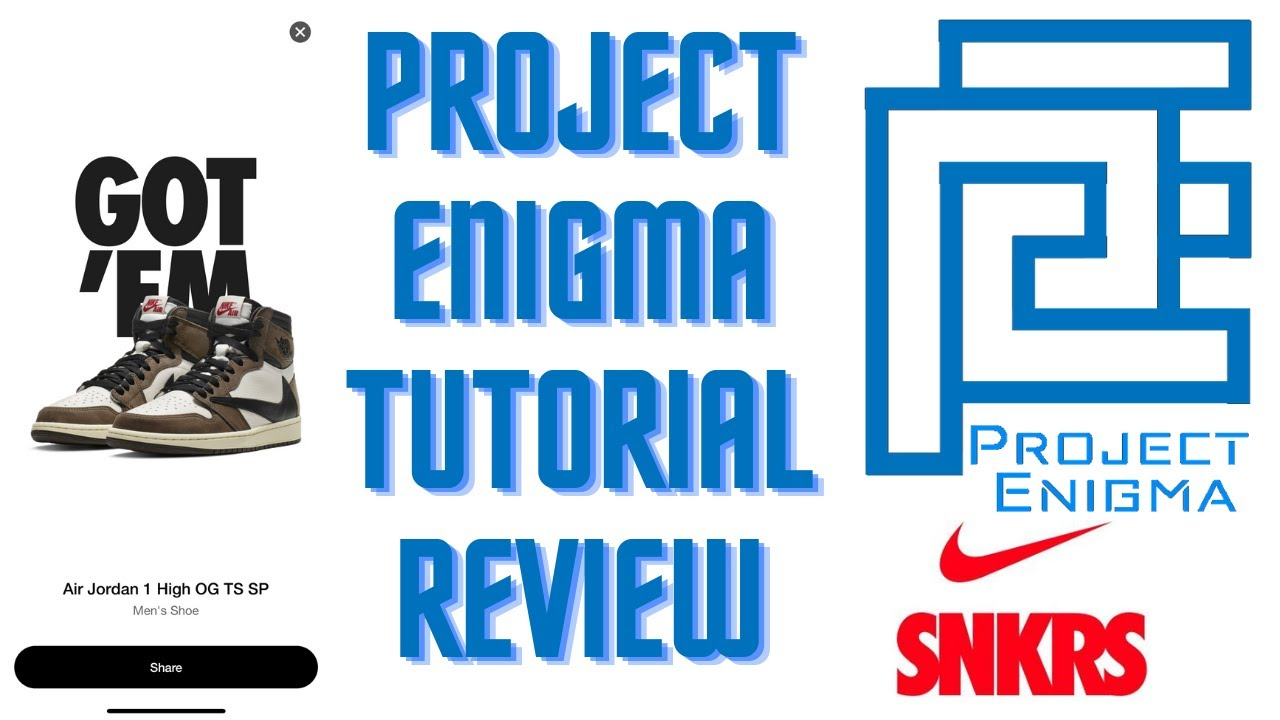 BEST SNKRS BOT   Project Enigma Tutorial and Review