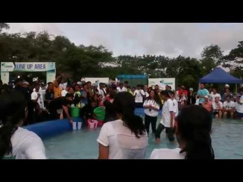 Monsoon Marathon 2014 Bangalore Ice bucket challenge