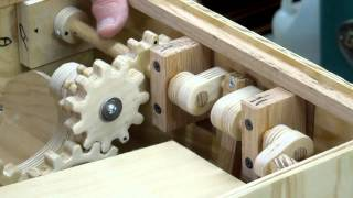 Building The Busker Organ - Motor Drive & Gears Part 4