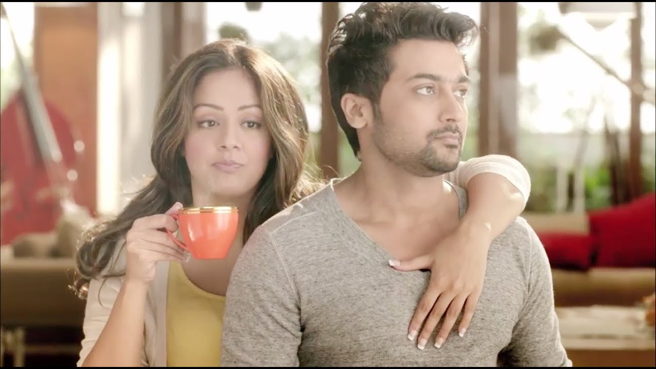 Surya and Jyothika in Latest Nescafe Sunrise TVC with ...