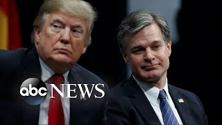 Classified House Intelligence Committee memo puts Trump and Wray at odds