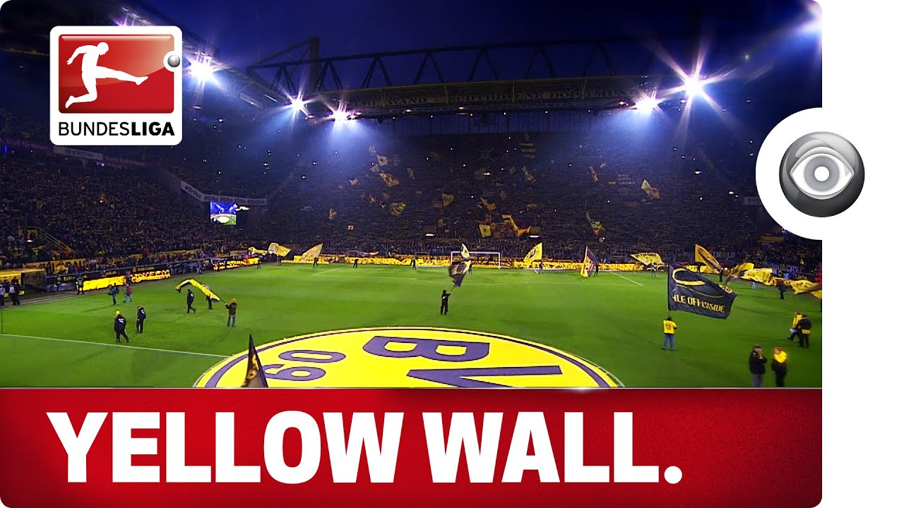 the yellow wall the heart of borussia dortmund youtube. Black Bedroom Furniture Sets. Home Design Ideas