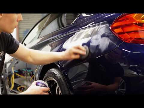 Tanzanite Blue BMW M4 - Auto Finesse New Car Detail