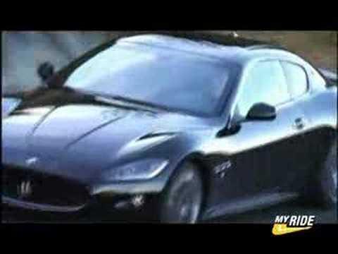 Geneva: Maserati Gran Turismo S Driving