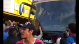 مشجعين العراق / حافلة المنتخب الوطني مالمو