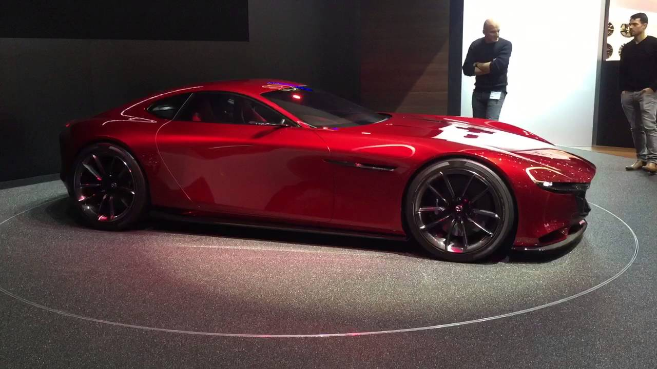 Nice Mazda RX Vision Rotary Sports Car Concept   Geneva Motor Show Video Blog    YouTube
