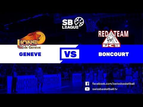 SB League - Day 17: Genève vs. Boncourt