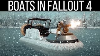 DRIVEABLE BOATS - Fallout 4 Mods Weekly - Week 85 (PC/Xbox One)