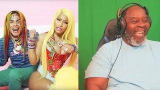 "Dad Reacts to 6ix9ine & Nicki Minaj - ""FEFE"" (Official Music Video)"
