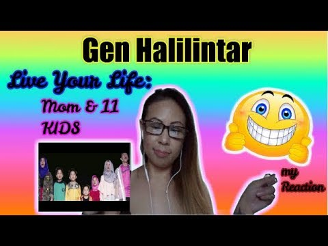 GEN HALILINTAR - LIVE YOUR LIFE (LYRIC VIDEO) | MY REACTION