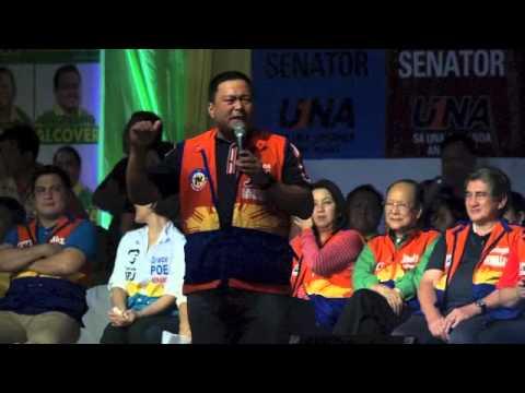 JV Ejercito - UNA proclamtaion rally