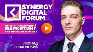 Леонид Гроховский | Мультипликативный маркетинг | Университет СИНЕРГИЯ
