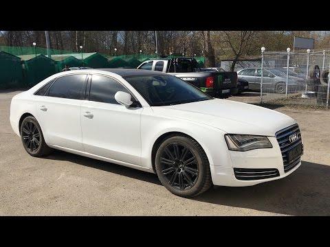 Ничто не предвещало беды! Audi A8, один владелец, 2011 год , максималка!