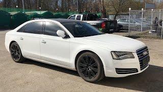 видео Отзывы владельцев Audi A8 (Ауди А8)