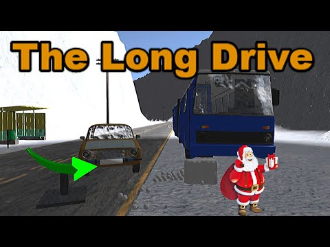 SANTA CLAUS - WINTER TRIP - The Long Drive #7 | Radex