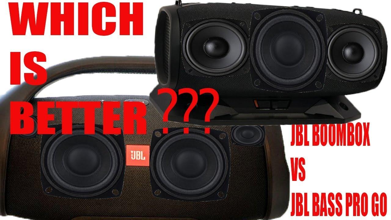 jbl boombox jbl bass pro go two monsters. Black Bedroom Furniture Sets. Home Design Ideas