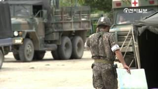 무장 탈영병 자살시도 후 생포, 상황 종료 [천지TV]