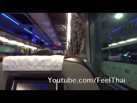 รีวิวสมบัติทัวร์ VIP ไปเชียงราย เชียงแสน Sombat Tour VIP Bus review Bangkok Chiang Rai Chiang Saen